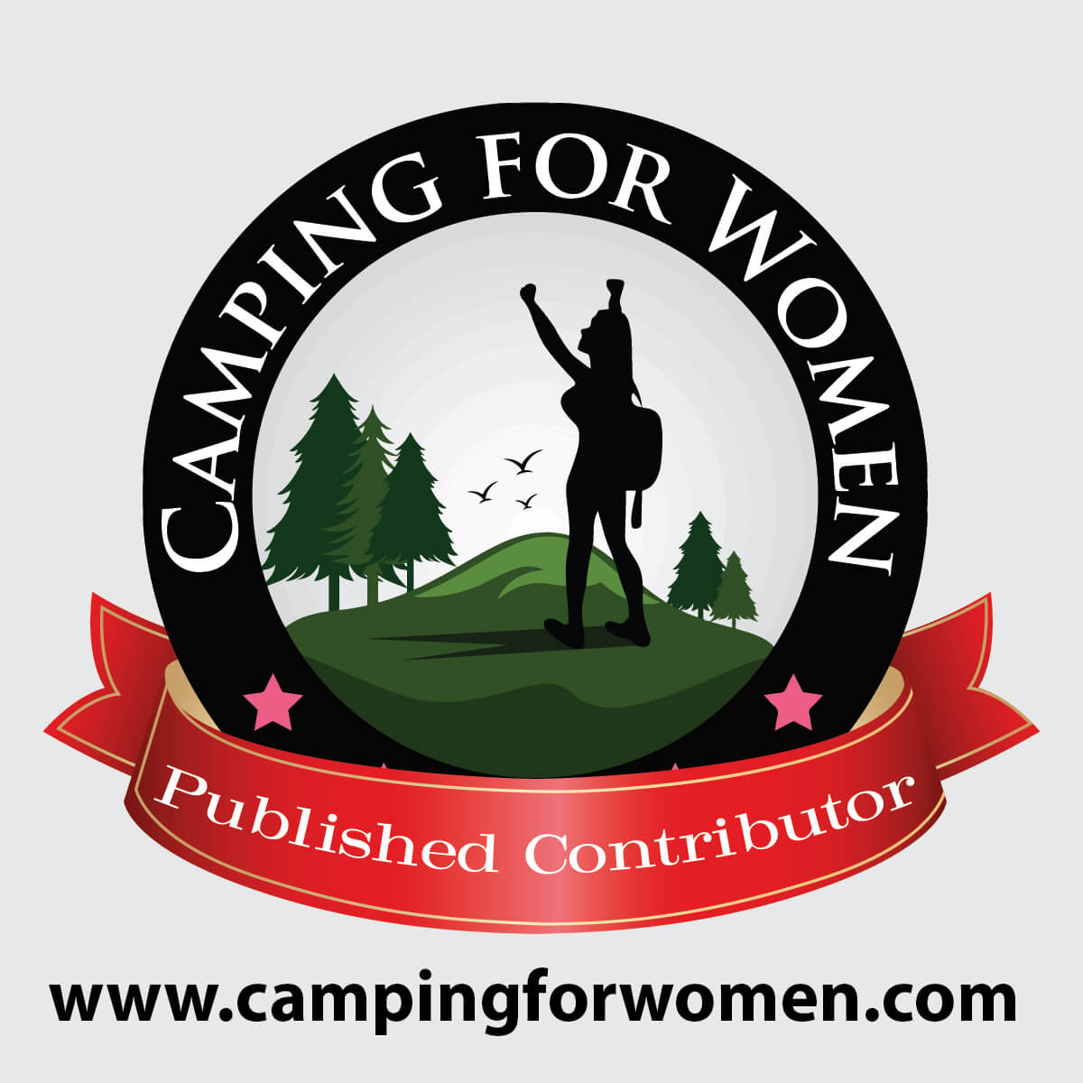 Camping for Women Logo