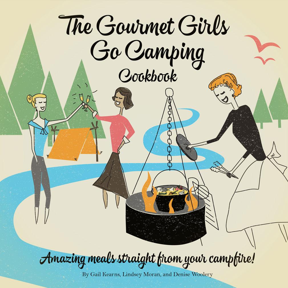 Gourmet Girls on Fire Cookbook Cover