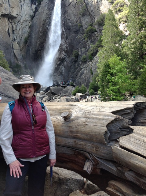 Gail and Waterfall
