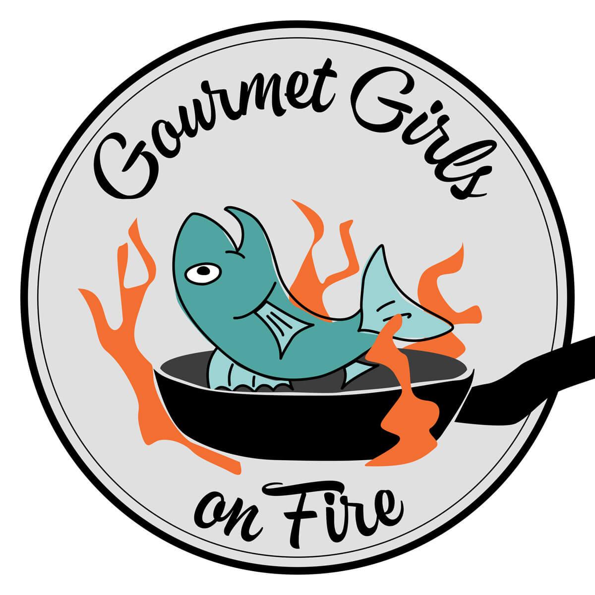 Gourmet Girls on Fire Logo