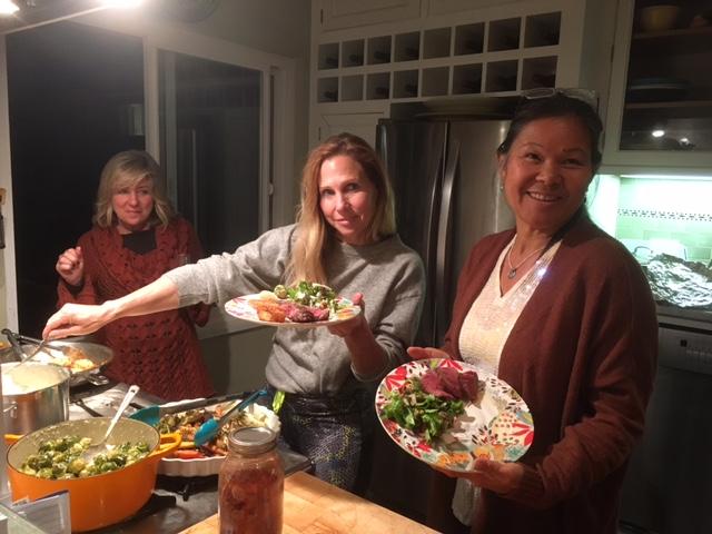 Serving up dinner