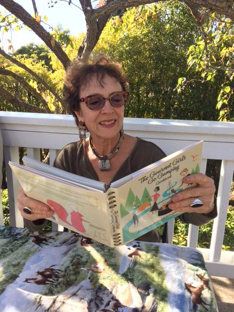 Seyburn Zorthian with cookbook